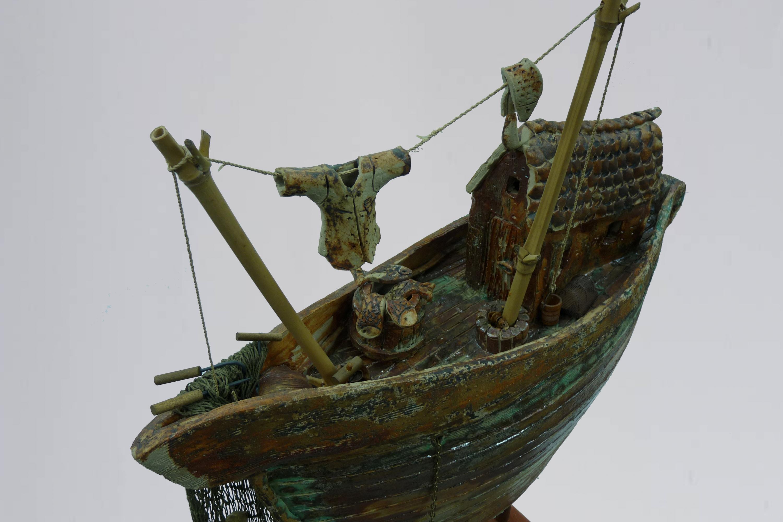 Anja-KeramiekVissersboot